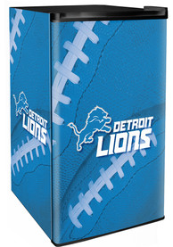 Detroit Lions Blue Counter Height Refrigerator