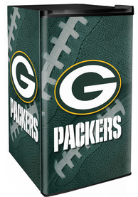 Green Bay Packers Green Counter Height Refrigerator