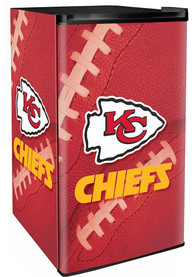 Kansas City Chiefs Red Counter Height Refrigerator