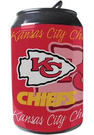Kansas City Chiefs Red Portable Can Refrigerator