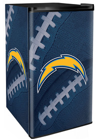 Los Angeles Chargers Navy Blue Counter Height Refrigerator