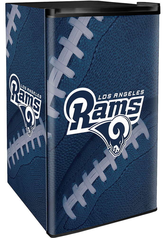 Los Angeles Rams Navy Blue Counter Height Refrigerator - Image 1