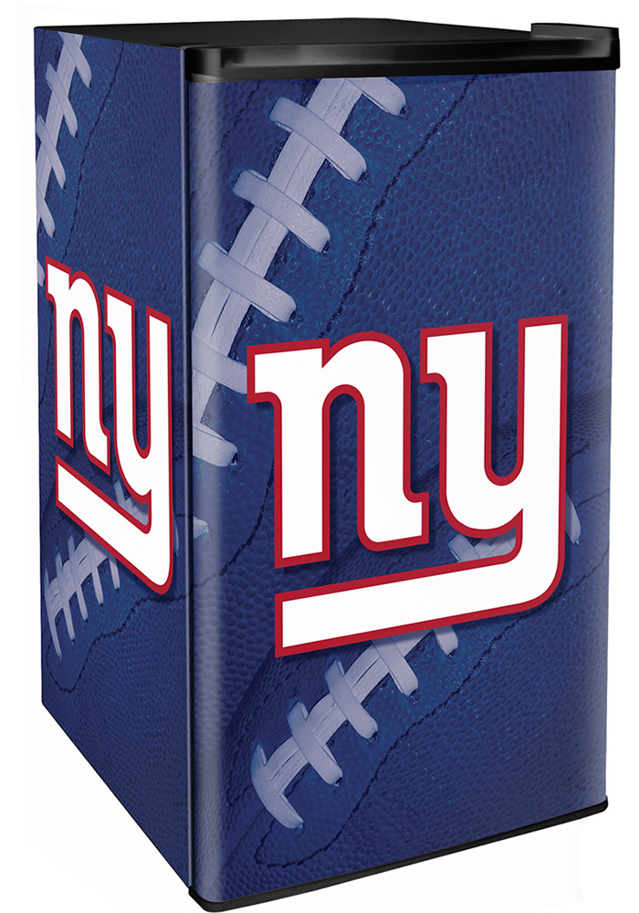 New York Giants Blue Counter Height Refrigerator - Image 1