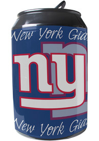 New York Giants Blue Portable Can Refrigerator