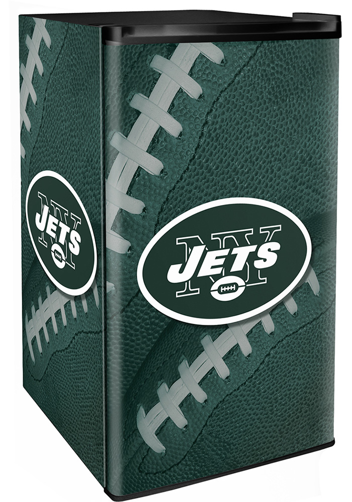 New York Jets Green Counter Height Refrigerator - Image 1