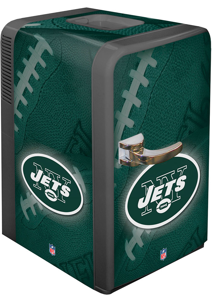 New York Jets Green Portable Party Refrigerator - Image 1