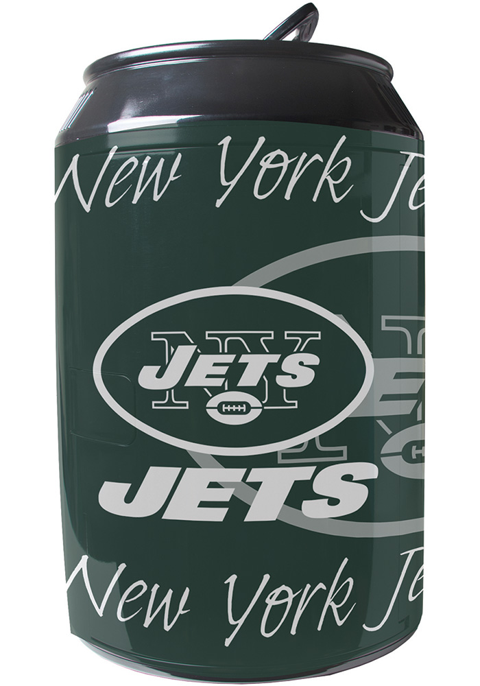 New York Jets Green Portable Can Refrigerator - Image 1