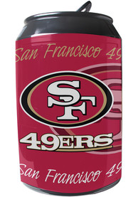 San Francisco 49ers Red Portable Can Refrigerator