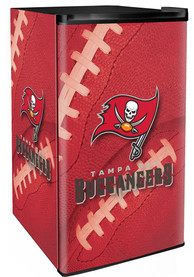 Tampa Bay Buccaneers Red Counter Height Refrigerator