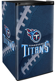 Tennessee Titans Blue Counter Height Refrigerator