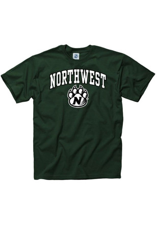 Northwest Missouri State Bearcats Mens Green Arch Tee