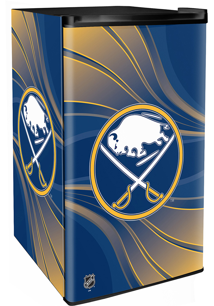 Buffalo Sabres Blue Counter Height Refrigerator - Image 1