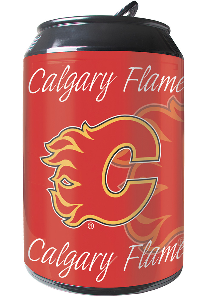 Calgary Flames Red Portable Can Refrigerator - Image 1