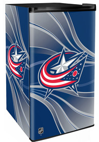 Columbus Blue Jackets Blue Counter Height Refrigerator