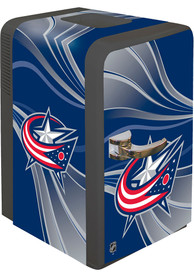 Columbus Blue Jackets Blue Portable Party Refrigerator