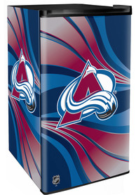 Colorado Avalanche Red Counter Height Refrigerator
