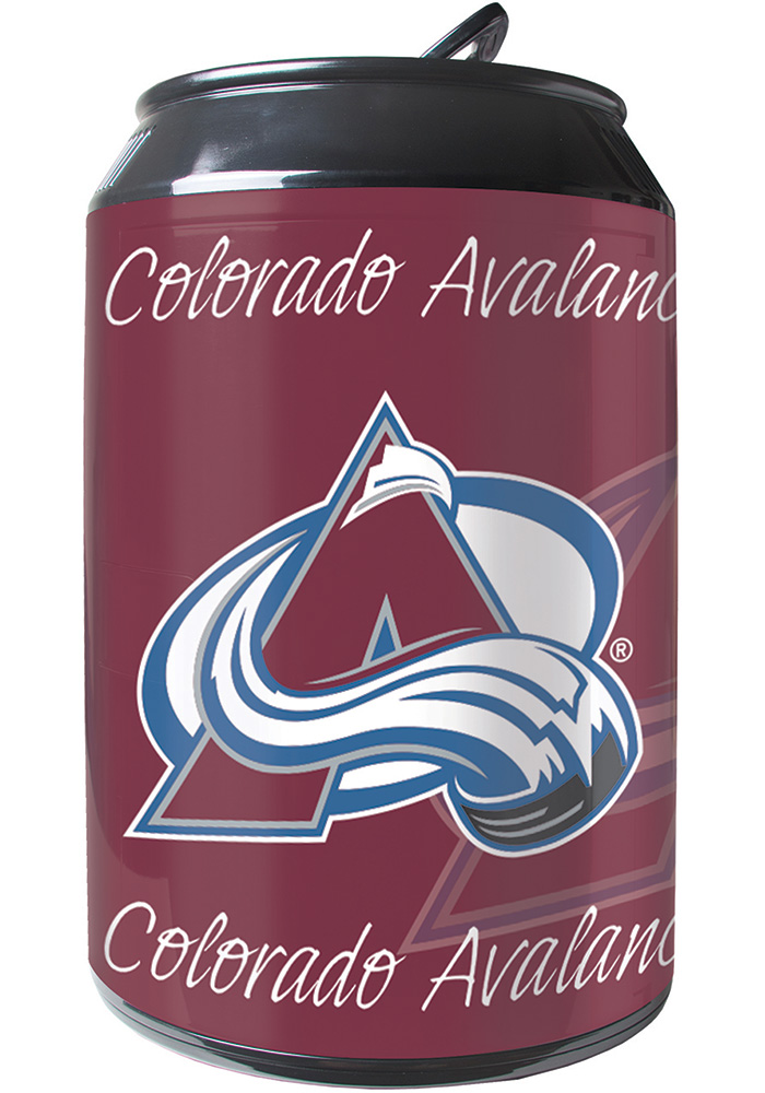 Colorado Avalanche Red Portable Can Refrigerator - Image 1