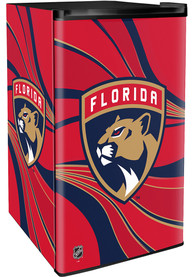 Florida Panthers Red Counter Height Refrigerator