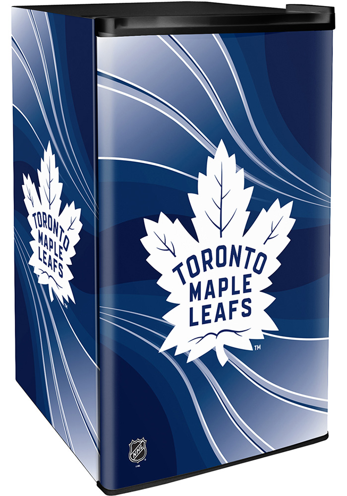 Toronto Maple Leafs Blue Counter Height Refrigerator - Image 1