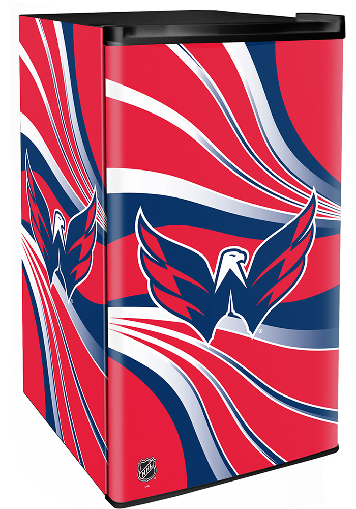 Washington Capitals Red Counter Height Refrigerator - Image 1