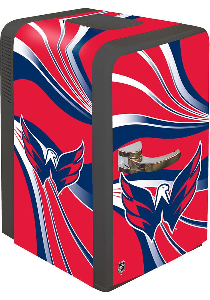 Washington Capitals Red Portable Party Refrigerator - Image 1