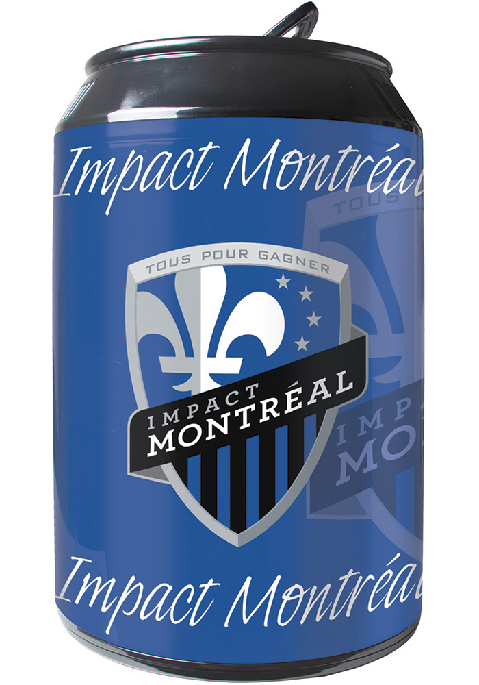 Montreal Impact Blue Portable Can Refrigerator - Image 1