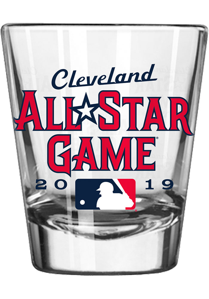 Cleveland 2019 MLB All-Star Game 2oz Satin Etch Shot Glass - Image 1