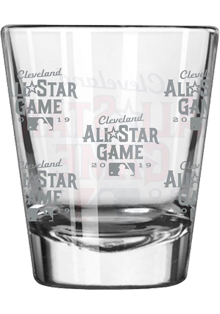 Cleveland 2019 MLB All-Star Game 2oz Satin Etch Shot Glass - Image 2