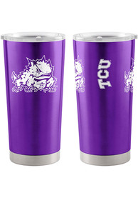 TCU Horned Frogs 20oz Ultra Stainless Steel Tumbler - Purple