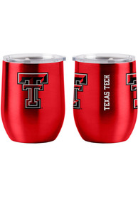 Texas Tech Red Raiders 16oz Curved Ultra Wine Stainless Steel Tumbler - Red