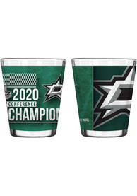 Dallas Stars 2020 NHL Conference Champs 2oz Sublimated Shot Glass