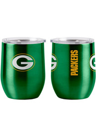 Green Bay Packers 16 OZ Curved Ultra Stainless Steel Tumbler - Green