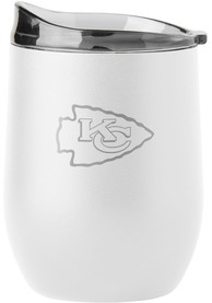 Kansas City Chiefs 16 OZ Curved Ultra Stainless Steel Tumbler - White
