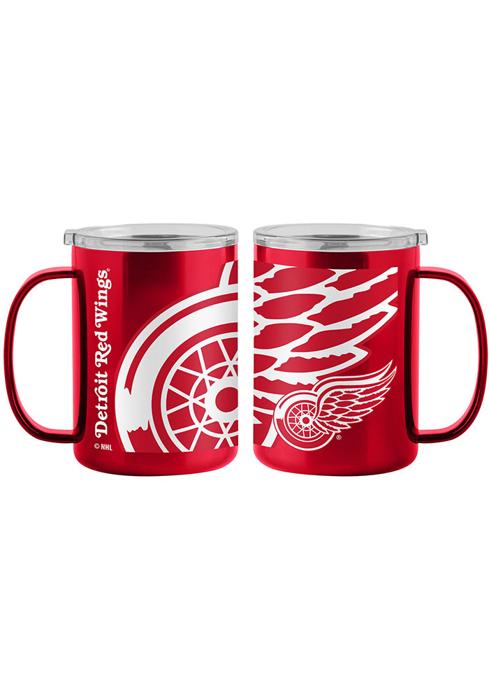 Detroit Red Wings 15oz Hype Ultra Mug Stainless Steel Tumbler - Red