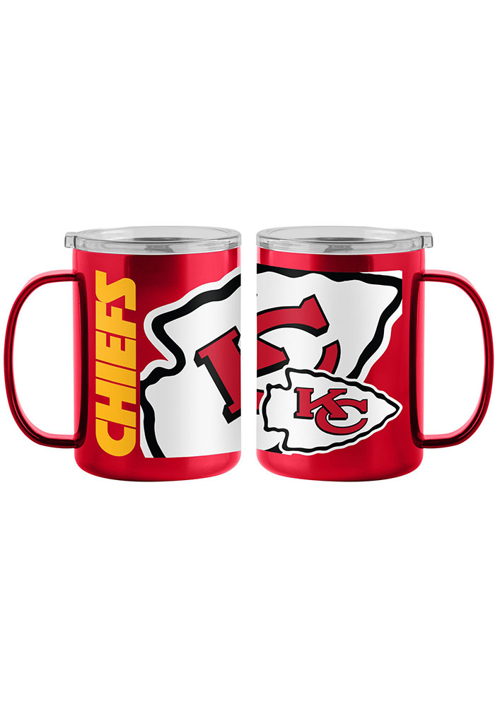 Kansas City Chiefs 15oz Hype Ultra Mug Stainless Steel Tumbler - Red - Image 1