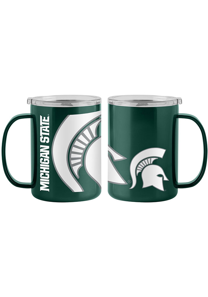 Michigan State Spartans 15oz Hype Ultra Mug Stainless Steel Tumbler - Green