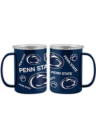 Penn State Nittany Lions 15oz Sticker Ultra Mug Stainless Steel Tumbler - Blue