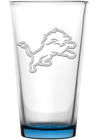 Detroit Lions 16oz Embossed Pint Glass