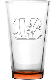 Cincinnati Bengals 16oz Embossed Pint Glass