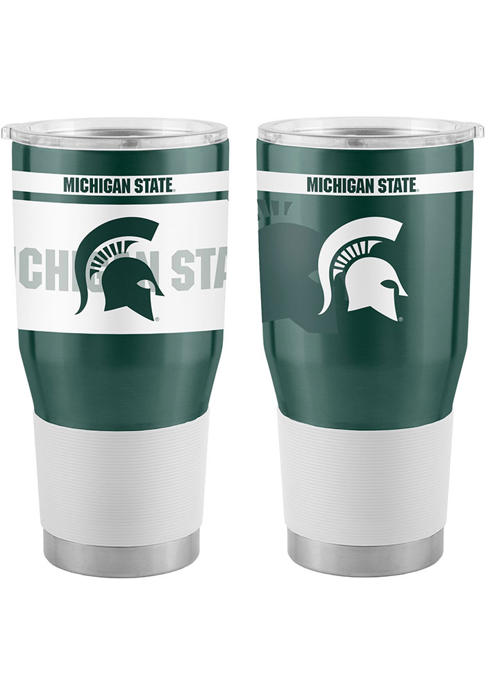 Michigan State Spartans 30oz Twist Ultra Stainless Steel Tumbler - Green