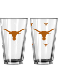 Texas Longhorns 16oz Color Changing Pint Glass
