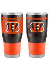 Cincinnati Bengals 30oz Twist Ultra Stainless Steel Tumbler - Orange
