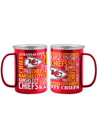 Kansas City Chiefs 15oz Spirit Ultra Mug Stainless Steel Tumbler - Red