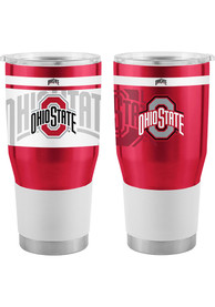 Ohio State Buckeyes 30oz Twist Ultra Stainless Steel Tumbler - Red
