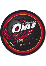 Temple Owls 4 inch Round Coaster
