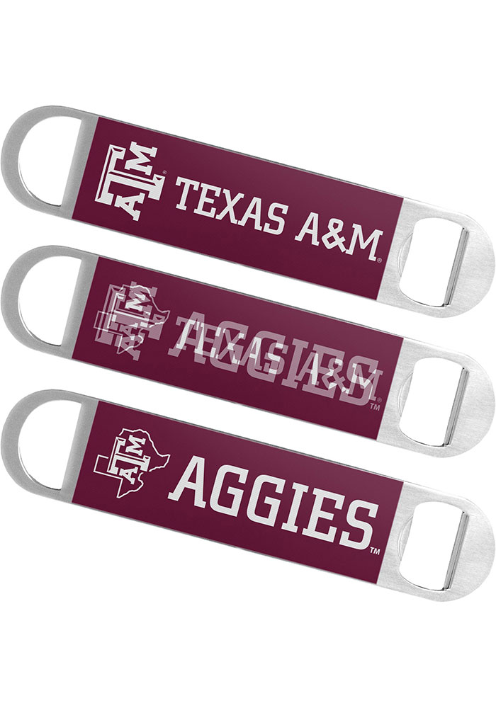 Texas A&M Aggies 7 Inch Hologram Bottle Opener - Image 1