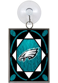 Philadelphia Eagles Stained Glass Ornament