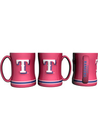 Texas Rangers 15 oz Sculpted Mug