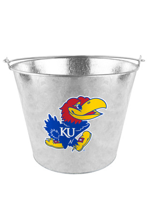 Kansas Jayhawks Blue 5qt Bucket