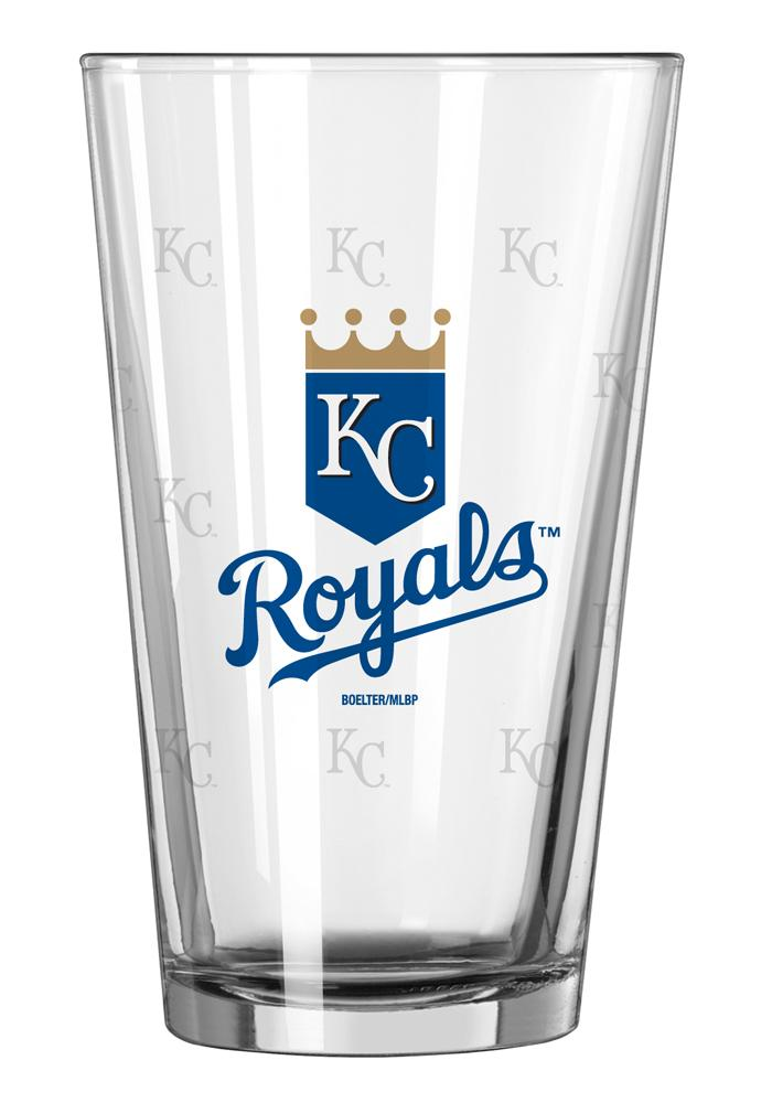 Kansas City Royals 16oz Stain Etch Pint Glass 101690